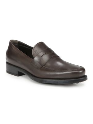 Boston Gomma Leather Loafers