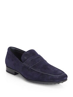 Tod's - Suede Moccasin