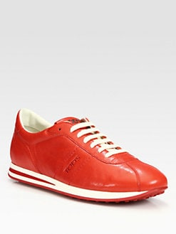 Tod's - Leather Sport Lace-Up Sneakers
