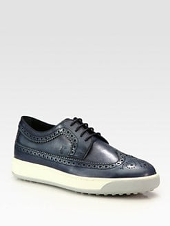 Tod's - Leather Brogue Lace-Ups