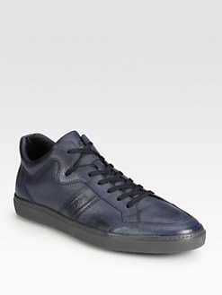 Tod's - Leather Lace-Up Sneaker