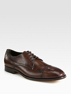 Tod's - Derby Leather Oxfords