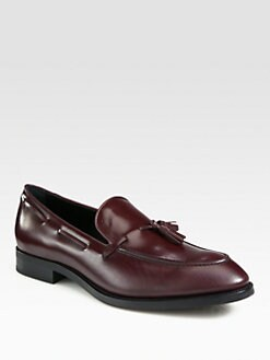 Tod's - Leather Tassel Loafers