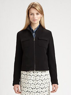 Weekend MaxMara - Woven Bomber Jacket