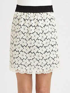 Weekend MaxMara - Amerigo Lace Skirt