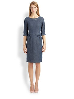 Weekend MaxMara - Sabina Denim Dress