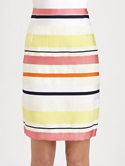 Weekend MaxMara - Carabo Striped Skirt