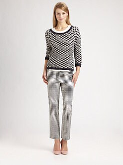 Weekend MaxMara - Pegaso Tri-Colored Sweater