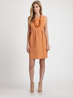 Weekend MaxMara - Linen/Cotton Sheath Dress