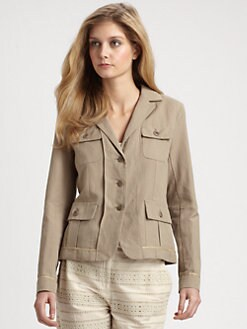 Weekend MaxMara - Cotton/Linen Edile Jacket