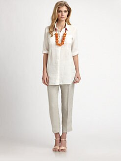 Weekend MaxMara - Linen Fedelle Blouse