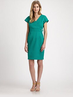 Weekend MaxMara - Buckle-Detail Sheath Dress
