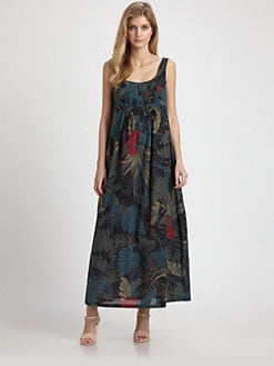 Weekend MaxMara - Selce Cotton Maxi Dress