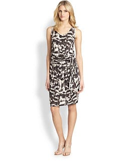 Weekend MaxMara - Lupino Jersey Tie-Front Dress