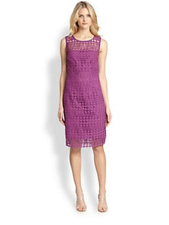Weekend MaxMara - Helga Crochet-Overlay Dress