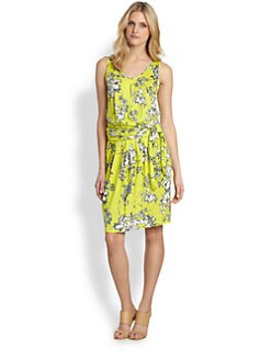 Weekend MaxMara - Lupino Jersey Floral Dress