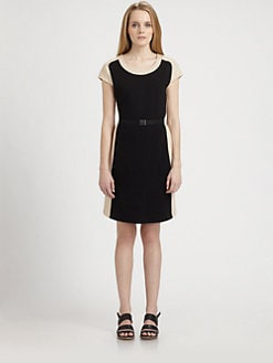 Weekend MaxMara - Two-Tone Knit Dress