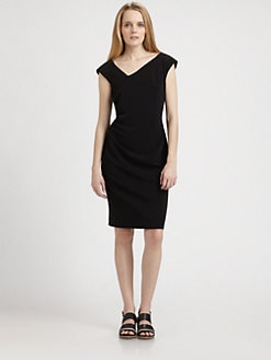Weekend MaxMara - Asymmetrical Neck Dress