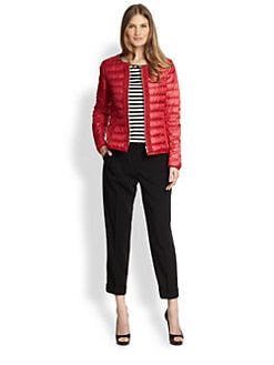 Weekend MaxMara - Collarless Quilted Jacket