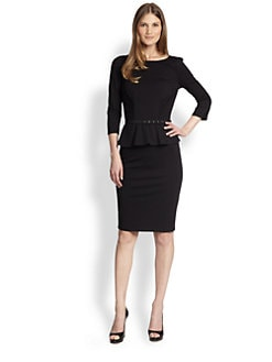 Weekend MaxMara - Mirto Peplum Jersey Dress