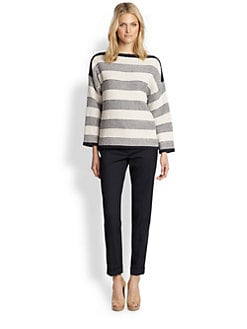Weekend MaxMara - Block-Striped Sweater