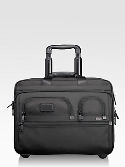 Tumi - Deluxe Wheeled Brief with Laptop Case