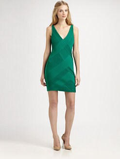 Catherine Malandrino - Crisscross-Detail Dress