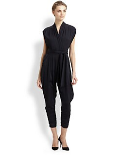 Catherine Malandrino - Favorites Cap-Sleeve Jumpsuit