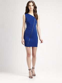 Catherine Malandrino - Diagonal-Zip Dress
