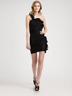 Catherine Malandrino - Ruffle/Ruched Dress