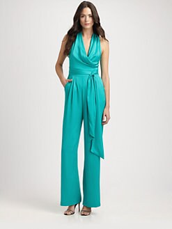 Catherine Malandrino - String-Back Jumpsuit