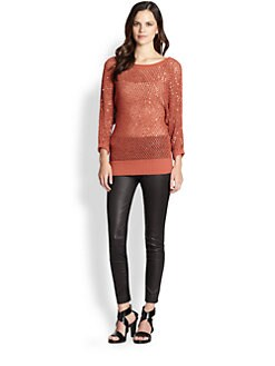 Catherine Malandrino - Sequin-Detail Dolman Sweater