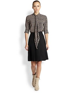 Marc Jacobs - Printed Sash-Tie Blouse