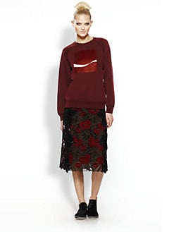 Marc Jacobs - Sequined Cashmere-Blend Sweatshirt