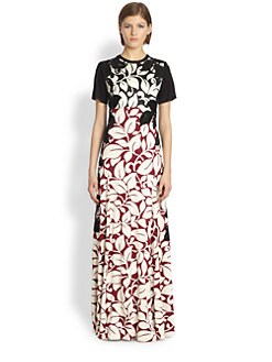Marc Jacobs - Breadfruit Silk Jersey Gown