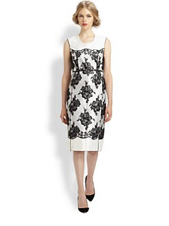 Marc Jacobs - Belted Lace Dress