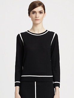 Marc Jacobs - Wool Contrast Stitch Sweater