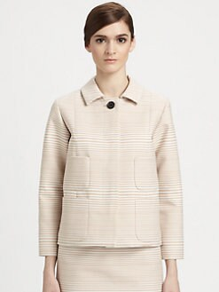 Marc Jacobs - Degradé Stripe Jacquard Jacket