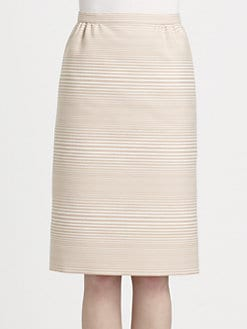 Marc Jacobs - Degradé Stripe Jacquard Skirt