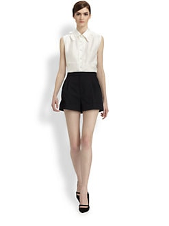 Marc Jacobs - Silk Ruffle Blouse