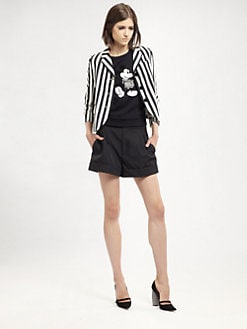 Marc Jacobs - Striped Three-Button Jacket