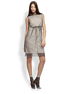 Marc Jacobs - Gingham Organza Dress