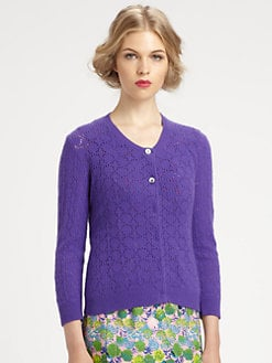 Marc Jacobs - Lace-Knit Cardigan