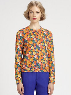 Marc Jacobs - Floral Cashmere Sweater