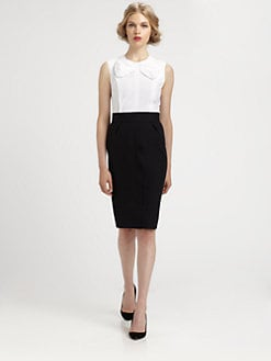 Marc Jacobs - Bow Peplum Top