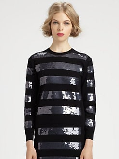 Marc Jacobs - Sequin Stripe Sweater