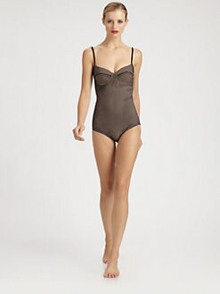 Bottega Veneta - Perforated Jacquard Bathing Suit
