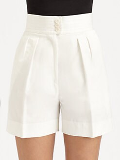 Bottega Veneta - Gabardine Shorts