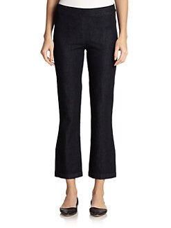 The Row - Seeton Stretch Denim Leggings