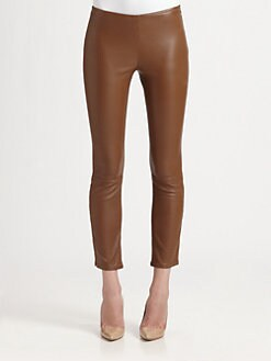 The Row - Ellerton Leather Leggings